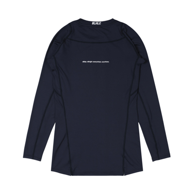 Compression Long Sleeve Tops (navy)
