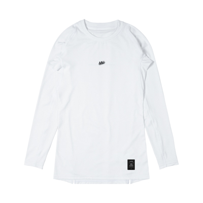 Compression Long Sleeve Tops (white)