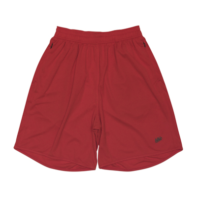 Basic Zip Shorts (red)