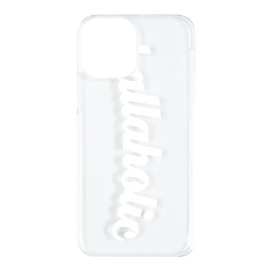 Clear iPhone Case (white)