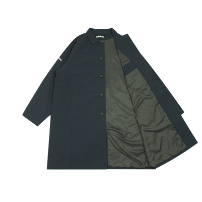 Logo Soutien Collar Coat (dark marine)