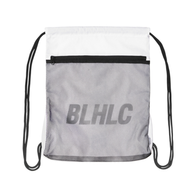 BLHLC Mesh Pocket Gymsack (white)