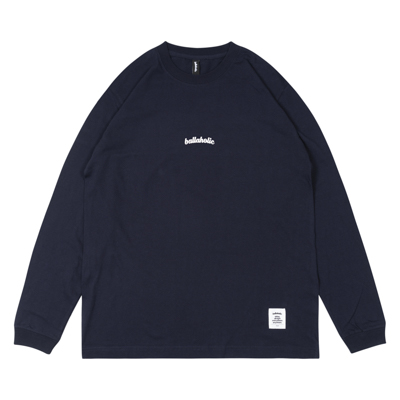Small LOGO LongTee (navy/white)